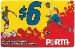 Ecuador - Porta - Jugador, Prepaid 6$, Used - Ecuador