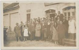 SUISSE . VAUD . Carte-photo , L'AUBERSON . Restaurant , Téléphone , Pensions , Personnel Et Clients , Année 1931 , - VD Vaud