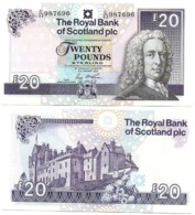 Scotland - 20 Pounds 2016 UNC RBS Lemberg-Zp - Scozia