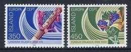ICELAND 1982 Nº 531/532 - 1944-... República