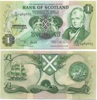 Scotland - 1 Pound 1984 AUNC / BOS Lemberg-Zp - Scozia