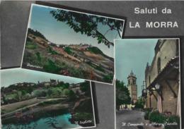 LA MORRA (CUNEO)  -F/G   ACQUARELLATA (190919) - Italia