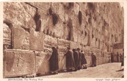 Jerusalem The Walling Wall - Israel