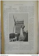 1898 LA MIRE MÉRIDIENNE DE MONTMARTRE - INDUSTRIE DU MARBRE - EXPLOITATION DU LAIT EN HOLLANDE - DISTRIBUTEUR DE TICKETS - Journaux - Quotidiens