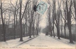 BRAINE - L'AVENUE DE LA GARE - Altri Comuni