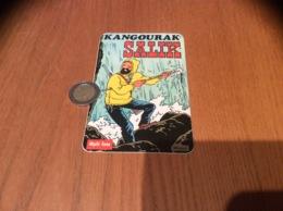 AUTOCOLLANT, Sticker «KANGOURAK - SALIK» (Capitaine Haddock - Tintin - HERGÉ) - Autocollants