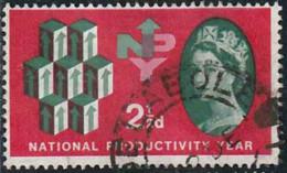 GB 1961 Yv. N°367 - 2p1/2 Année De La Productivité Nationale - Oblitéré - Oblitérés