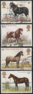 GB 1978 Yv. N°868 à 871 - Races De Chevaux - Oblitéré - Oblitérés
