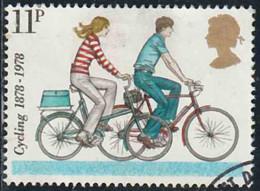 GB 1978 Yv. N°874 - Touring-Club Cycliste - 11p Bicyclettes Modernes - Oblitéré - Oblitérés