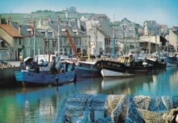 14 Port En Bessin, Les Chalutiers à Quai - Port-en-Bessin-Huppain