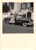 """0733 """"AUTO ANNI '50 NON IDENTIFICATA - 1953"""" ANIMATA. FOTOGRAFIA ORIGINALE - Automobili"""