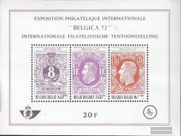 Belgium Block42 (complete Issue) Unmounted Mint / Never Hinged 1970 Belgica 72 - Blocks & Sheetlets 1962-....