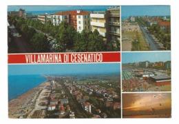 848 - VILLAMARINA DI CESENATICO 5 VEDUTE 1981 FORLI CESENA - Forlì
