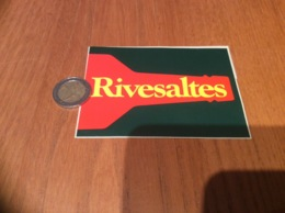 AUTOCOLLANT, Sticker «Rivesaltes» (vin) - Autocollants