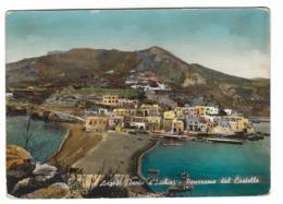 851 - ANGELO ( ISOLA D' ISCHIA ) PANORAMA DAL CASTELLO NAPOLI 1955 - Napoli (Naples)
