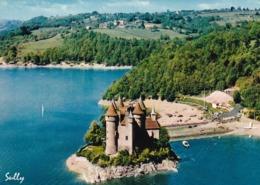 15 Lanobre, Château De Val (XVe Siècle), Sur Le Lac Du Barrage De Bort Les Orgues - France