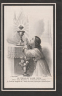 Bidprentje Henricus Félix Moestermans-diest 1843-antwerpen 1908 - Images Religieuses