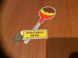 AUTOCOLLANT, Sticker «CHUPA Chups ORANGE - AVAILABLE HERE» (sucette) - Autocollants
