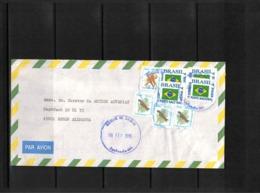 Brazil 1996 Interesting Airmail Letter - Brazilië