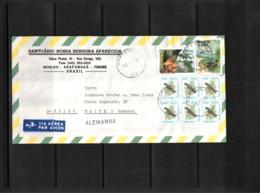 Brazil 1995 Interesting Airmail Letter - Brazilië
