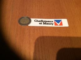 AUTOCOLLANT, Sticker «Chaffoteaux Et Maury» - Autocollants