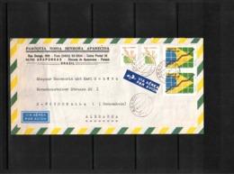 Brazil 1993 Interesting Airmail Letter - Brazilië
