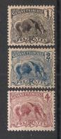 Guyane - 1904 - N°Yv. 49 - 50 - 51 - Fourmilier 1c / 2c / 4c - Neuf Luxe ** / MNH / Postfrisch - Guyane Française (1886-1949)