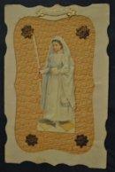 Souvenir De Premiere Communion Superbe Cpa Decoupis - Communion