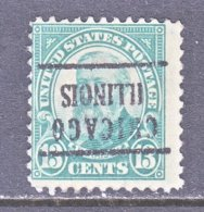U.S. 622   Perf. 11   (o)   ILLINOIS      1926   Issue - Precancels