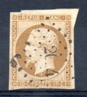 A SAISIR - YT N° 9 Signé Calves - Cote: 850,00 € - 1852 Louis-Napoléon