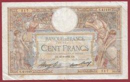 "100 Francs ""Luc Olivier Merson"" Du 10/08/1933.CD ---VG/TTB---ALPH.S.41440 - 1871-1952 Antiguos Francos Circulantes En El XX Siglo"