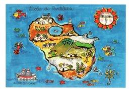 ISOLA  DI  PANTELLERIA  (TP) :  Design  Susanna De Simone  - CARTOLINA  NON VIAGGIATA - Trapani