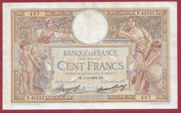 """100 Francs """"Luc Olivier Merson"""" Du 04/01/1934.DP ---F/TTB+---ALPH.P.42555 - 1871-1952 Anciens Francs Circulés Au XXème"""