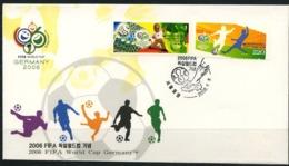 South Korea, World Cup 2006, FDC - Copa Mundial