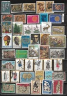 Greek Stamped Stamps 45 Pieces, 1970-1974, Michel 1031-1167 18,70 Euro (f 642) - Greenland