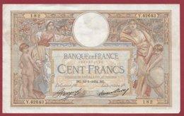 """100 Francs """"Luc Olivier Merson"""" Du 18/11/1934.BG ---F/TTB+---ALPH.Y.42643 - 1871-1952 Anciens Francs Circulés Au XXème"""