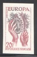 Europa 1957  Yv 1122  Essai De Couleur Bicolore ** - Essais