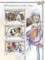 Niger 2015. [nig15303] Mother Teresa (s\s+block) - Mother Teresa