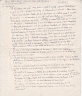 1944 BATTICE HERVE Septembre 1944 Récit Disparition Et Assassinat Par Un Commando SS D'un Civil Au Dos D'un Faire-part - Documents Historiques