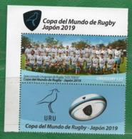 1686a  URUGUAY 2019-Copa Del Mundo De Rugby - Japón 2019. - Uruguay