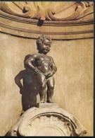 °°° 14552 - BELGIUM - BRUXELLES - MANNEKEN PIS - 1972 With Stamps °°° - Monumenti, Edifici