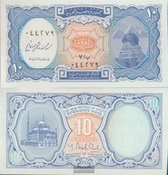 Egypt Pick-number: 191 Uncirculated 2006 10 Piastres Orange - Egypt
