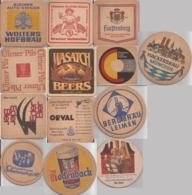 COASTER POSAVASO - Publicity BEER BREMER RATSKELLER - 9x9cm 1970' - Sous-bocks