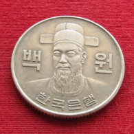 Korea South 100 Won 1972 KM# 9  Corea Coreia Do Sul Koree Coree - Korea (Zuid)
