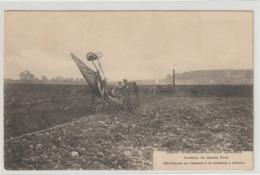 CPA 33  ST GERMAIN DU PUCH  DEFONCAGE DU TERRAIN A LA CHARRUE A VAPEUR - Frankrijk