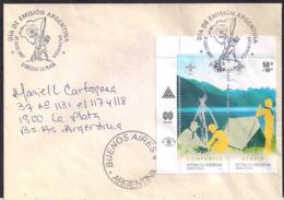 Argentina - 2007 - Centenaire Du Scoutisme - Scoutisme