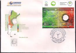 Argentina - 2004 - FDC - Forêts Indigènes - Protection De L'environnement - FDC