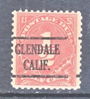 U.S. J  68   Perf.  11   **  CALIF.   1925   Issue - Precancels