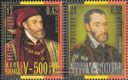 Belgium 2938-2939 (complete Issue) Unmounted Mint / Never Hinged 2000 Karl - Belgium