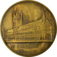 Belgique, Médaille, De Lakenhalle, Yper, 1972, TTB+, Bronze - Other